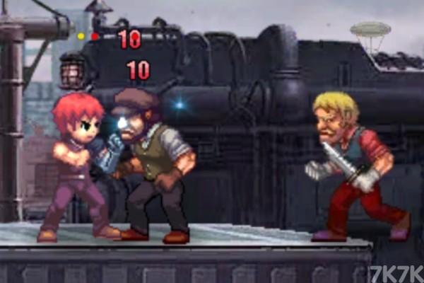 《复仇之臂审判》游戏画面3