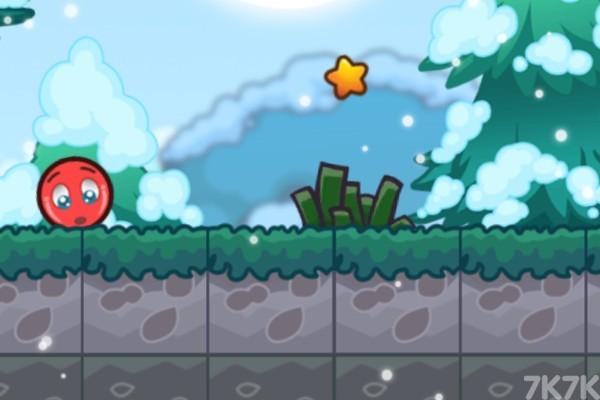 《小红球的大冒险3》游戏画面1