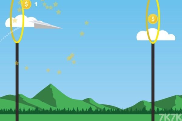 《冲吧!纸飞机》游戏画面1
