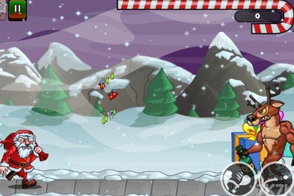 《圣诞老人往前冲》游戏画面1
