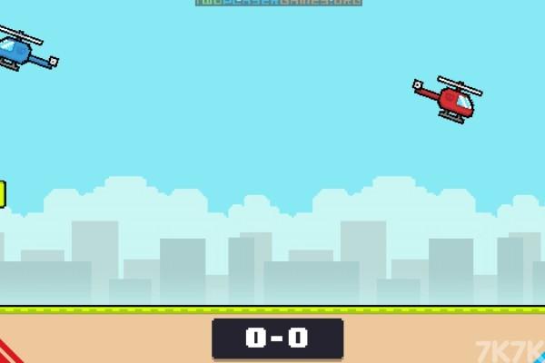 《红蓝飞机对决》游戏画面3