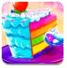 五彩人鱼蛋糕